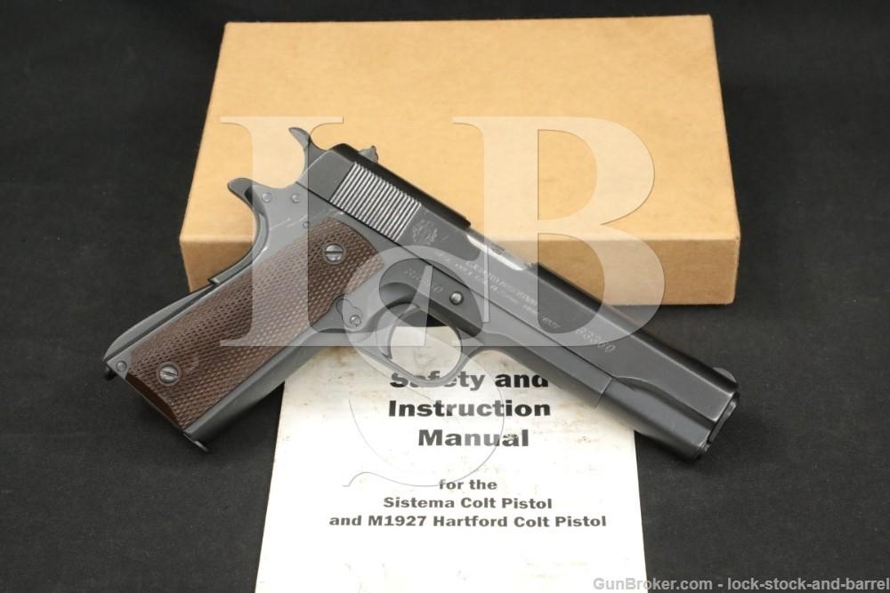 DGFM-FMAP Argentine Army 1911A1 Sistema Colt 1927 45 ACP Pistol, 1955 C&R