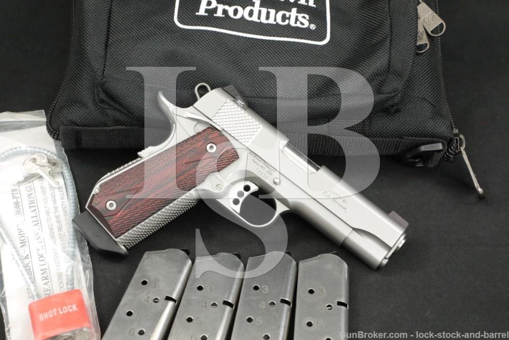 Ed Brown Products Model Kobra Carry 1911 .45 ACP 4.25″ Semi-Auto Pistol