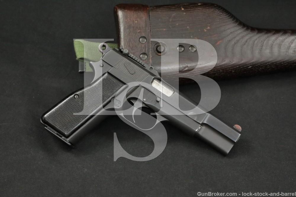 FN Browning 1935 GP Hi-Power Pre-War 9mm Semi-Auto Pistol MFD 1938-1940 C&R
