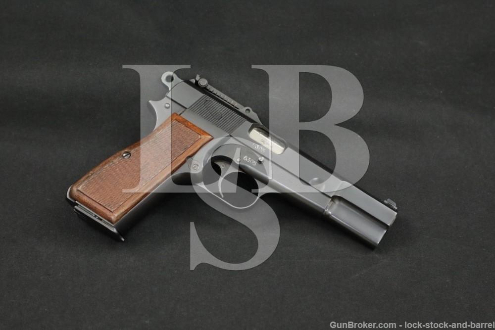 "FN Browning Hi-Power ""Bolivian Army"" 9mm Semi-Auto Pistol, 1935-1940 C&R"