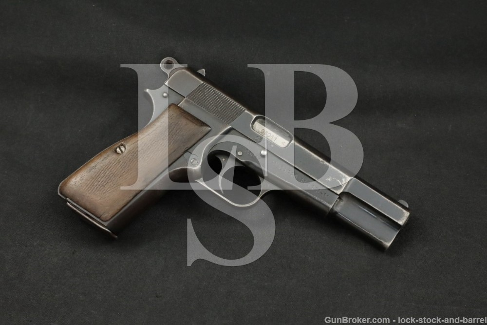 FN Browning Hi-Power Buenos Aires Police 9mm Semi-Auto Pistol, MFD 1960 C&R