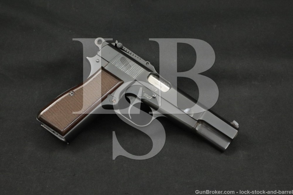 """FN Browning """"Chilean Police"""" High Power 9mm Semi-Auto Pistol 1928-1959 C&R"""