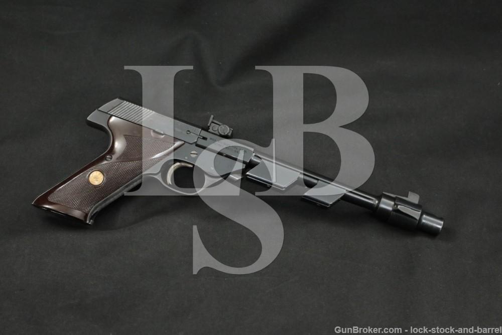 High Standard Model 103 Supermatic Citation 22 LR Semi-Auto Pistol 1962 C&R