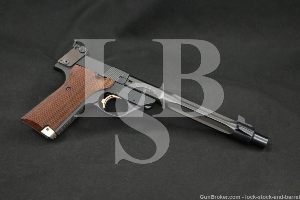 High Standard Supermatic Trophy ML Series .22 LR Semi-Automatic Pistol 1980