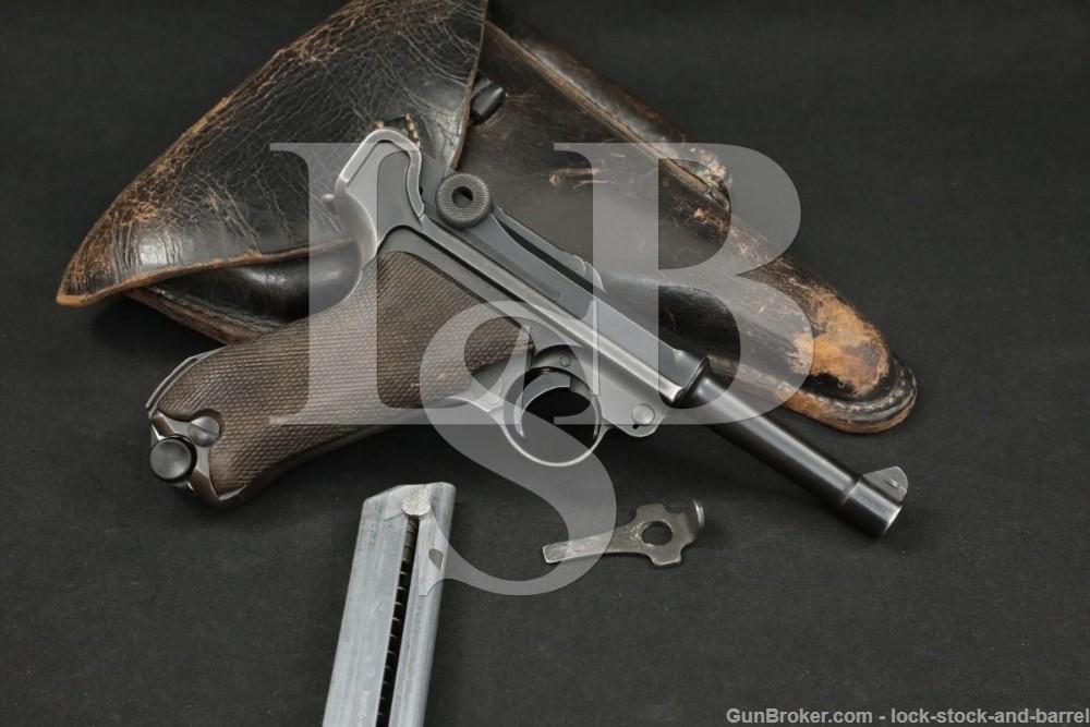 Inter-War DWM Commercial Luger 7.65mm Semi-Automatic Pistol, 1919-1921 C&R