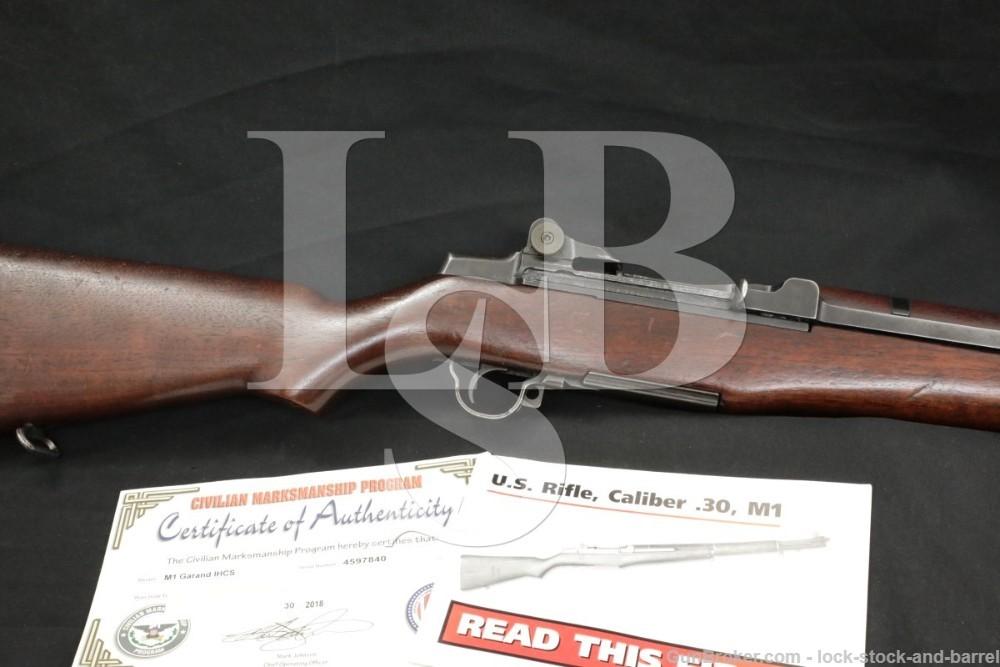 International Harvester M1 Garand CMP .30-06 Semi Automatic Rifle C&R