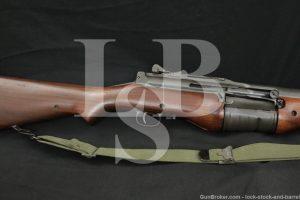 Johnson Automatics Model 1941 .30-06 Rare Dutch Semi Automatic Rifle C&R
