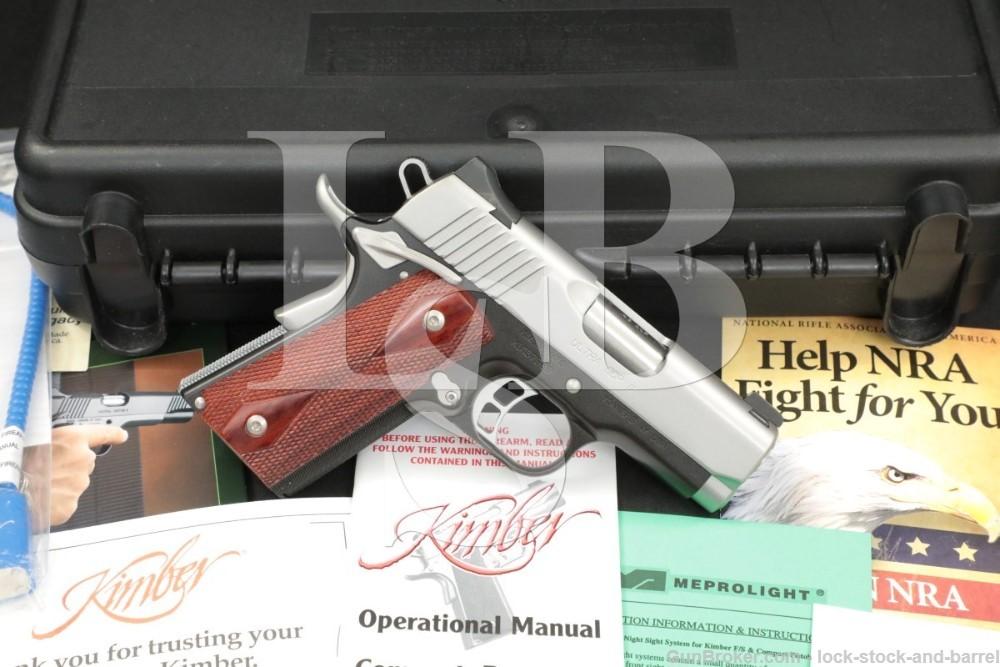 Kimber Custom Shop Ultra CDP II 2 1911 1911A1 .45 ACP 3″ Semi-Auto Pistol