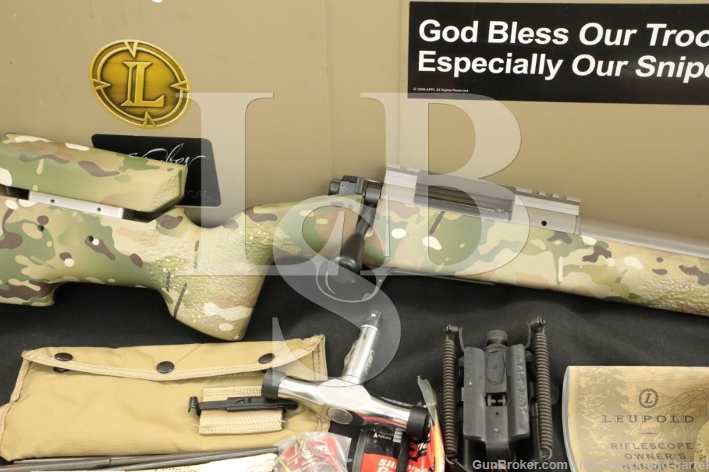 "Kimber Model 8400 Advanced Tactical .308 Win 18"" Bolt Action Rifle"