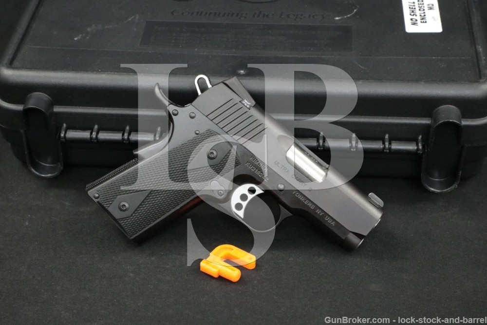 Kimber Model Ultra Carry II 2 .45 ACP 3″ 1911 Compact Semi-Auto Pistol