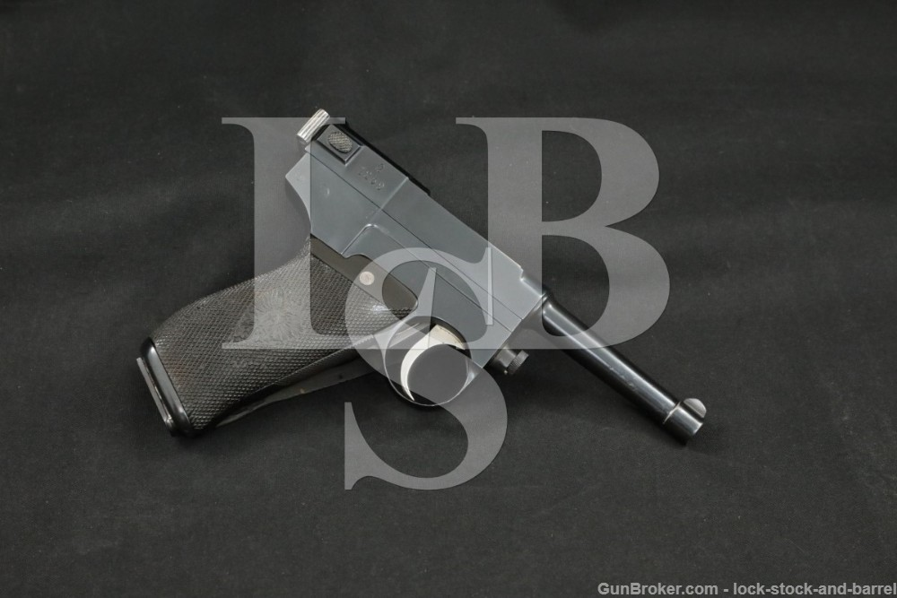 MBT Glisenti Model 1910 9mm Luger Semi-Auto Pistol, MFD 1910-1914 C&R