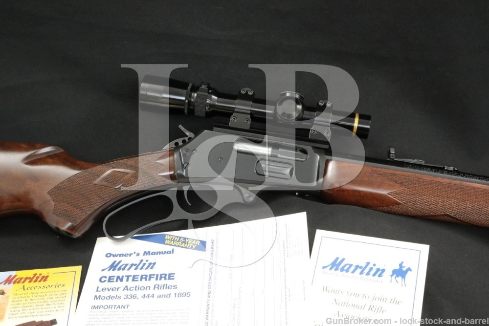 Marlin Firearms Co. 1895SS 1895-SS .45-70 Govt. JM Lever Action Rifle, 1999