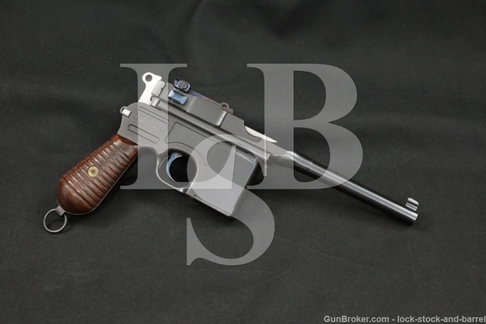 Mauser 1930 M30 C96 Broomhandle 7.63x25mm .30 Semi-Automatic Pistol, C&R
