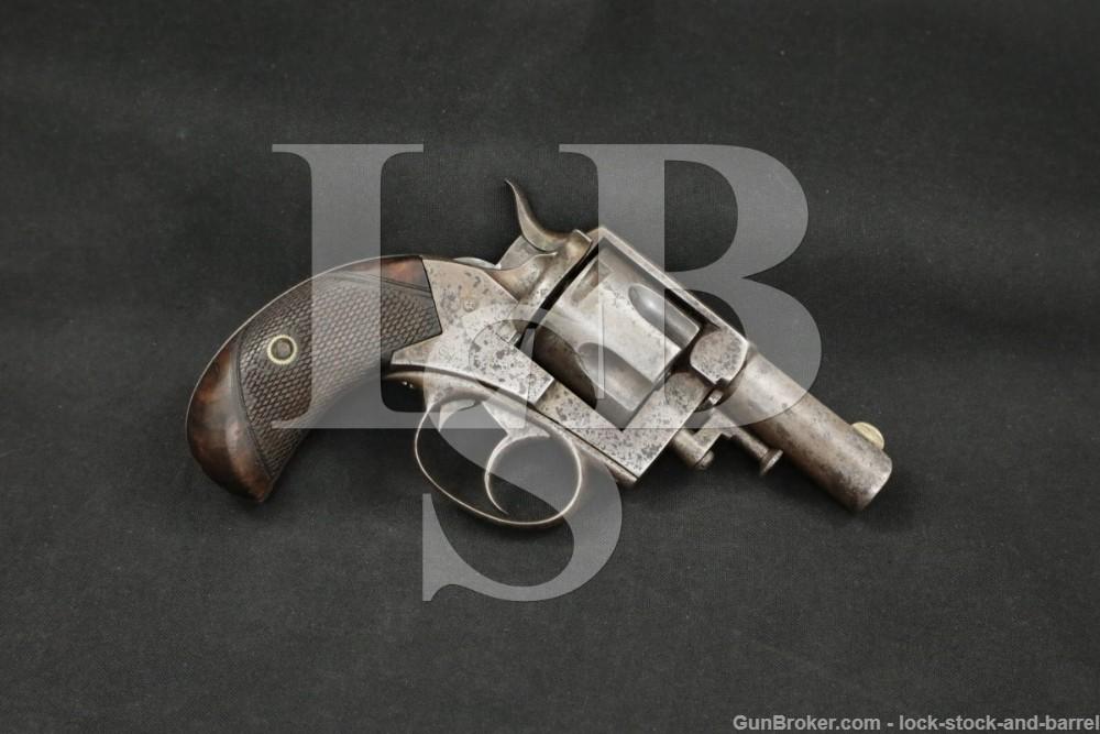 P. Webley & Son No. 2 Bulldog .380 Centerifre Revolver, 1881-1897 Antique