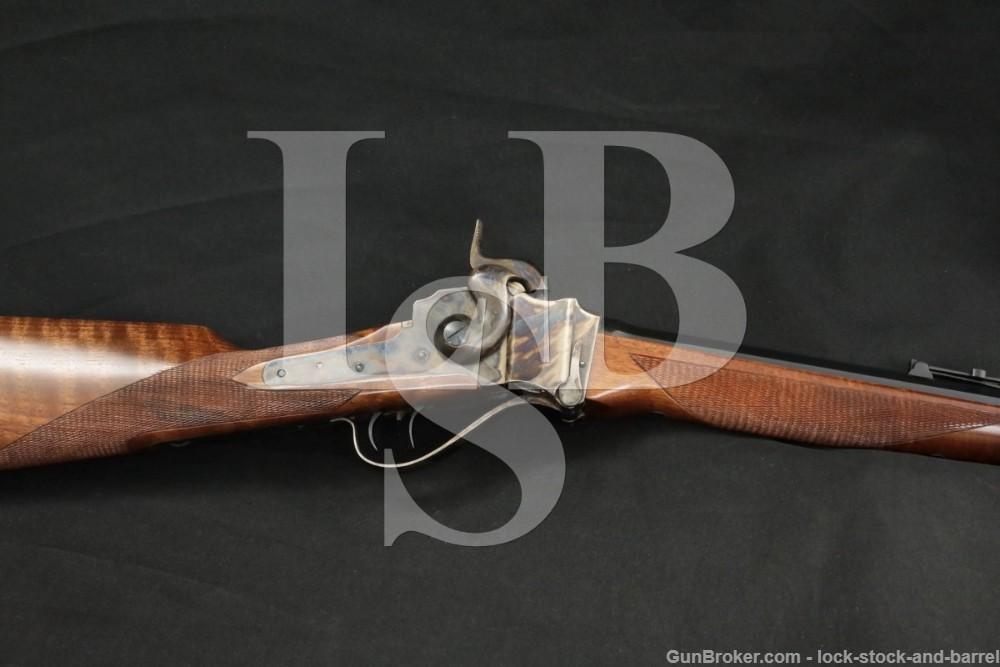 Pedersoli Model 1863 Sharps Sporting .54 Caliber BP Single Shot Rifle, 1997