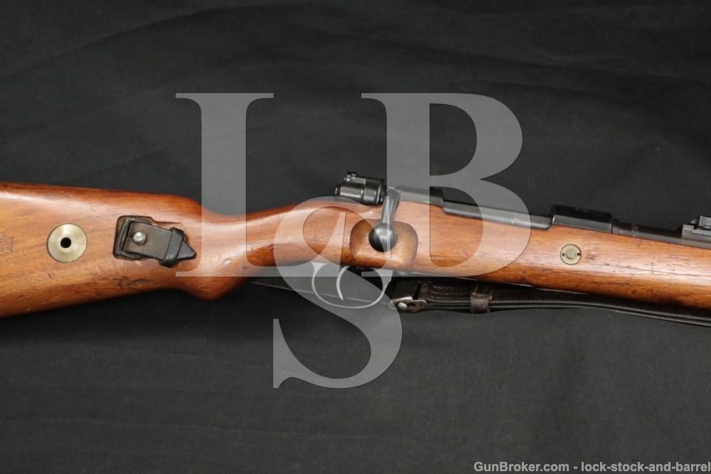 Portugal 1941 Mauser Matching Nazi K98 8mm German Bolt Action Rifle C&R