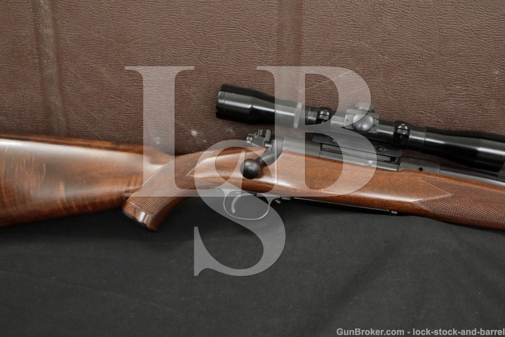 Pre-64 Winchester Model 70 Super Grade .375 H&H Magnum Bolt Rifle, 1950 C&R