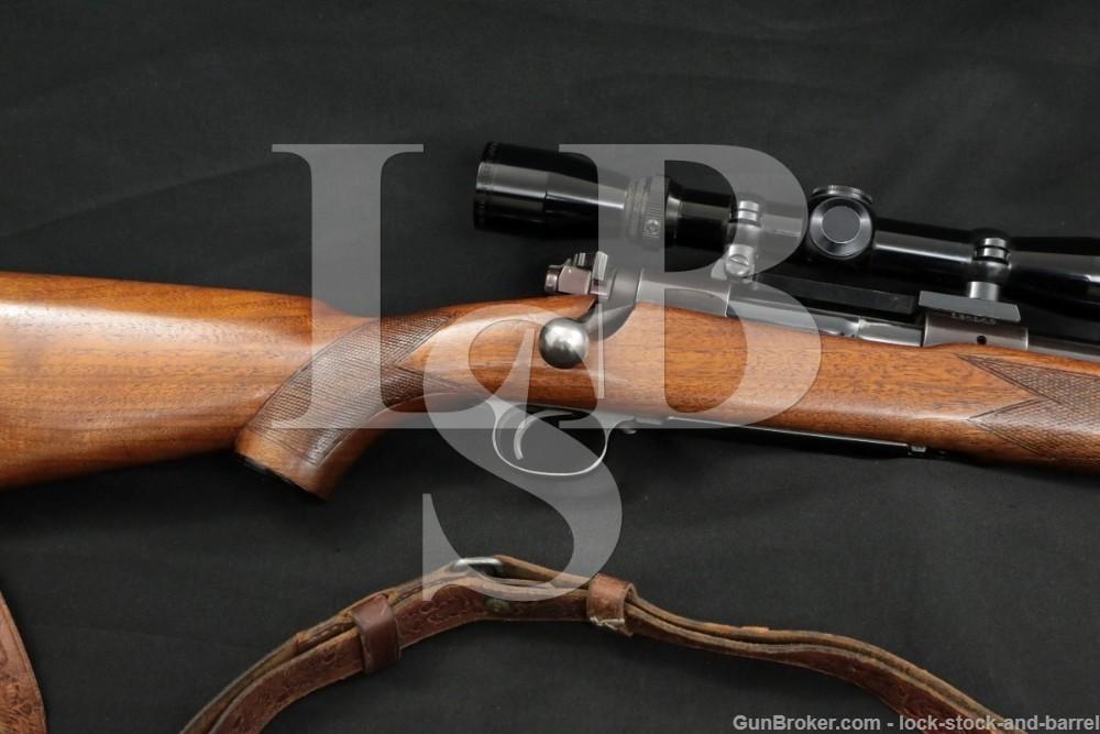 """Pre-64 Winchester Model 70 Super Grade 24"""" .30-06 Bolt Rifle, MFD 1949 C&R"""