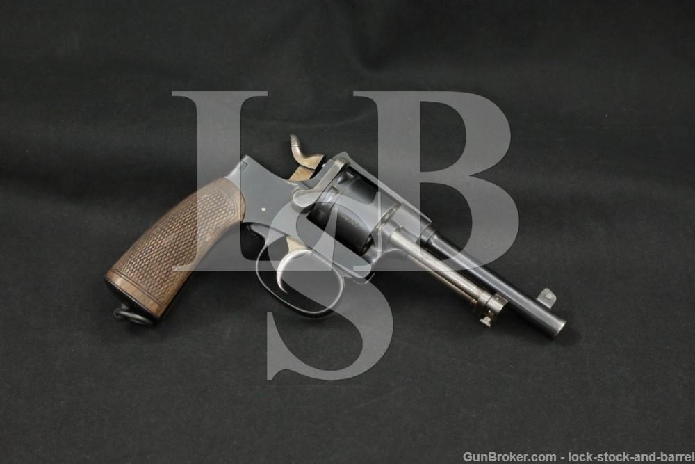 Pre-WWI Rast & Gasser M1898 M-1898 DA/SA Double Action Revolver, 1903 C&R