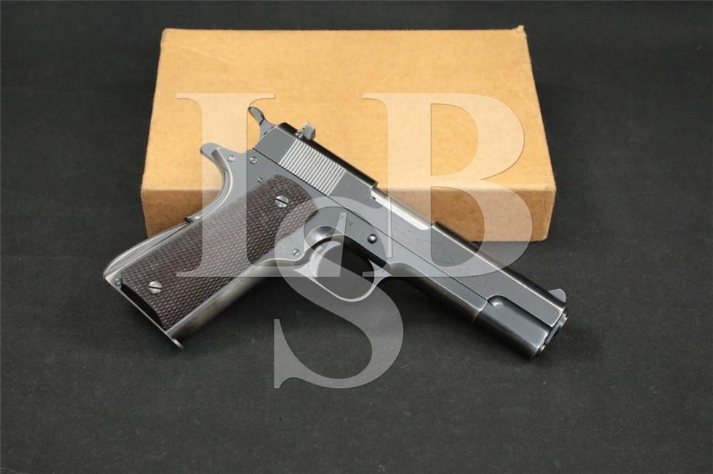 Pre-War Colt Commercial Ace 1911 .22 LR Semi-Automatic Pistol, 1937 C&R