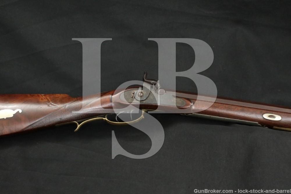 R.S. Clark J. Briggs .42 Cal Percussion Extra Plains Rifle, 1840-70 Antique