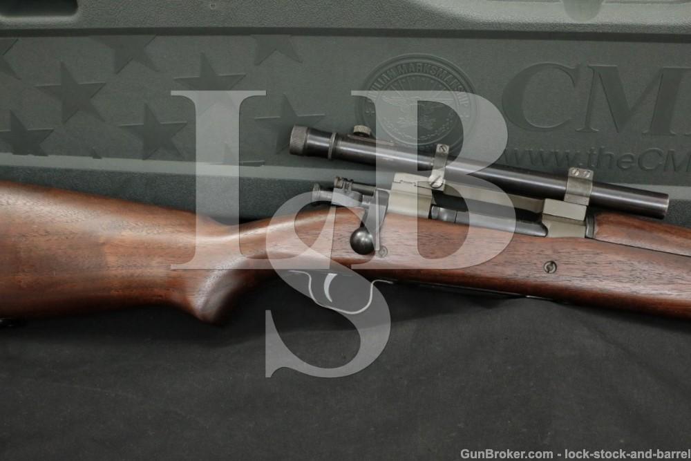 "Remington 03-A4 Sniper 1903A4 .30-06 Sprg. 24"" Bolt Action Rifle 1943 C&R"