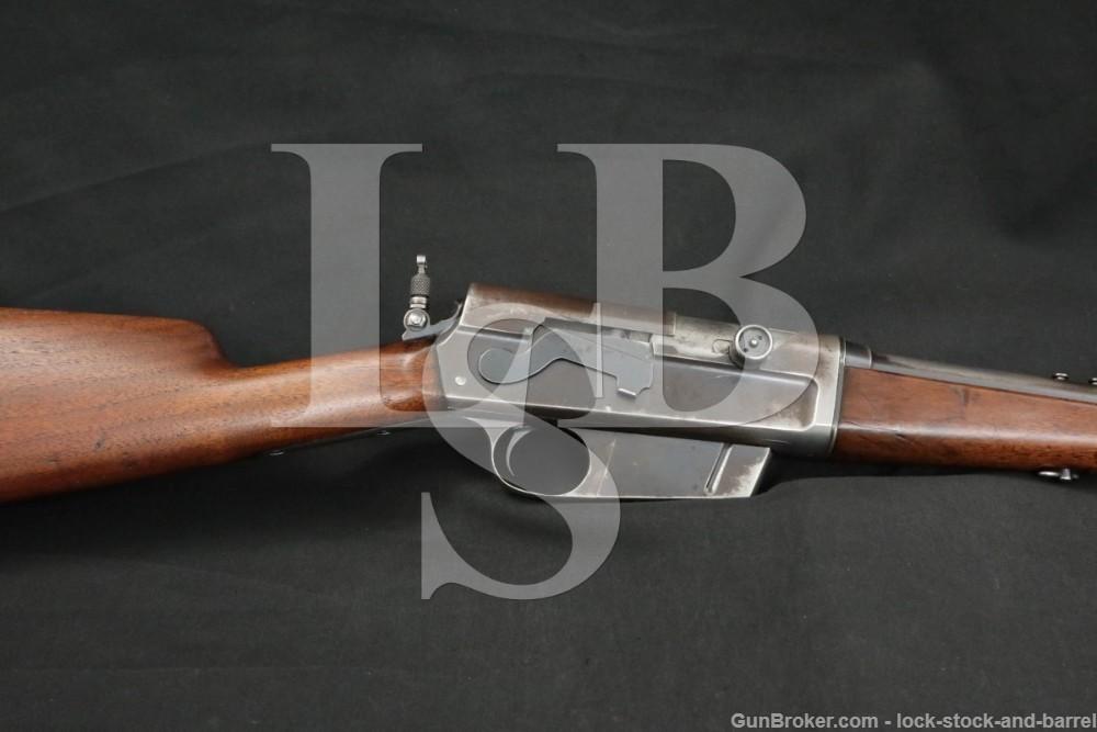 Remington Model 8 .35 Rem. 22″ Semi-Automatic Rifle MFD 1906-1911 C&R