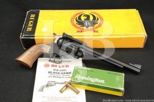Ruger New Model Blackhawk 06000 BNM-7 .357 Remington Maximum Revolver, 1983