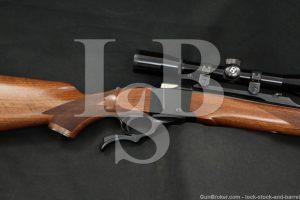 Ruger No 1 No-1 Number-1 01364 7x57mm Mannlicher Single Shot Rifle MFD 1984