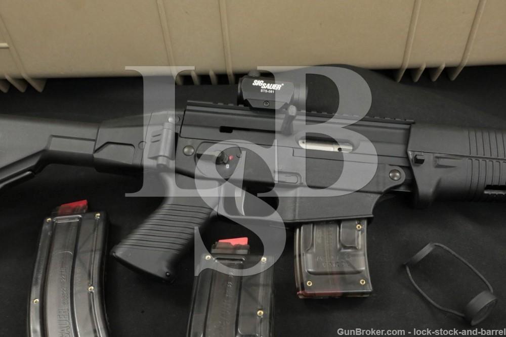 """SIG Sauer Model 522, Black 18 7/8"""" Semi Automatic Rimfire Rifle Case"""