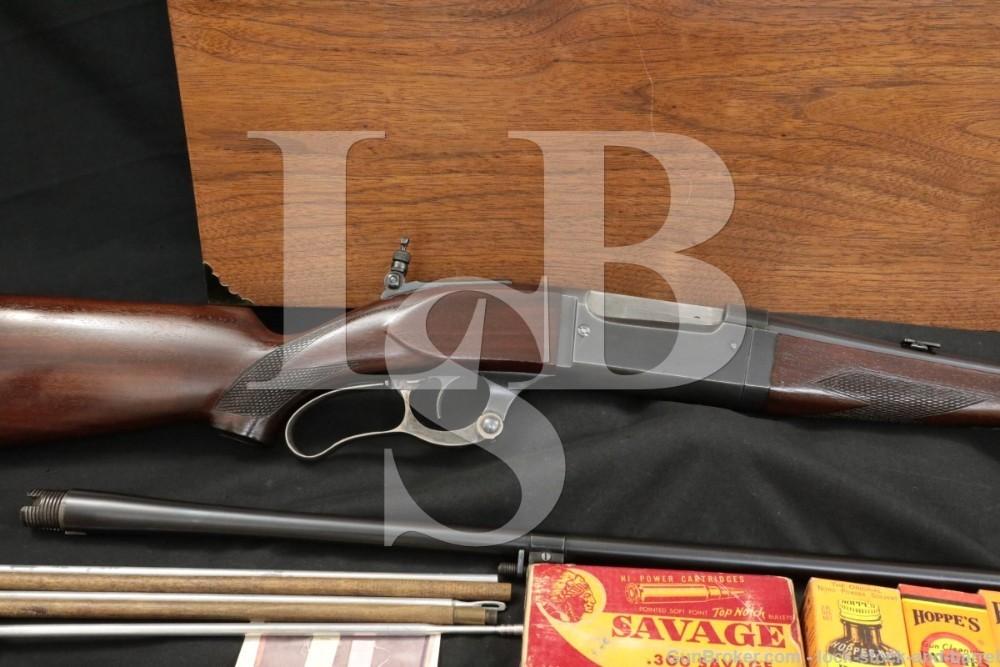 Savage 99-G Deluxe Takedown 2 Barrel Set .300 Sav. 24″ .410 GA 24″ C&R