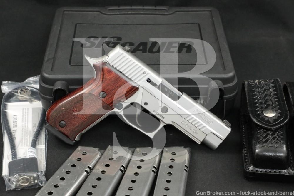 Sig Sauer Model P220R P-220-R Elite .45 ACP Stainless Semi-Auto Pistol 2014