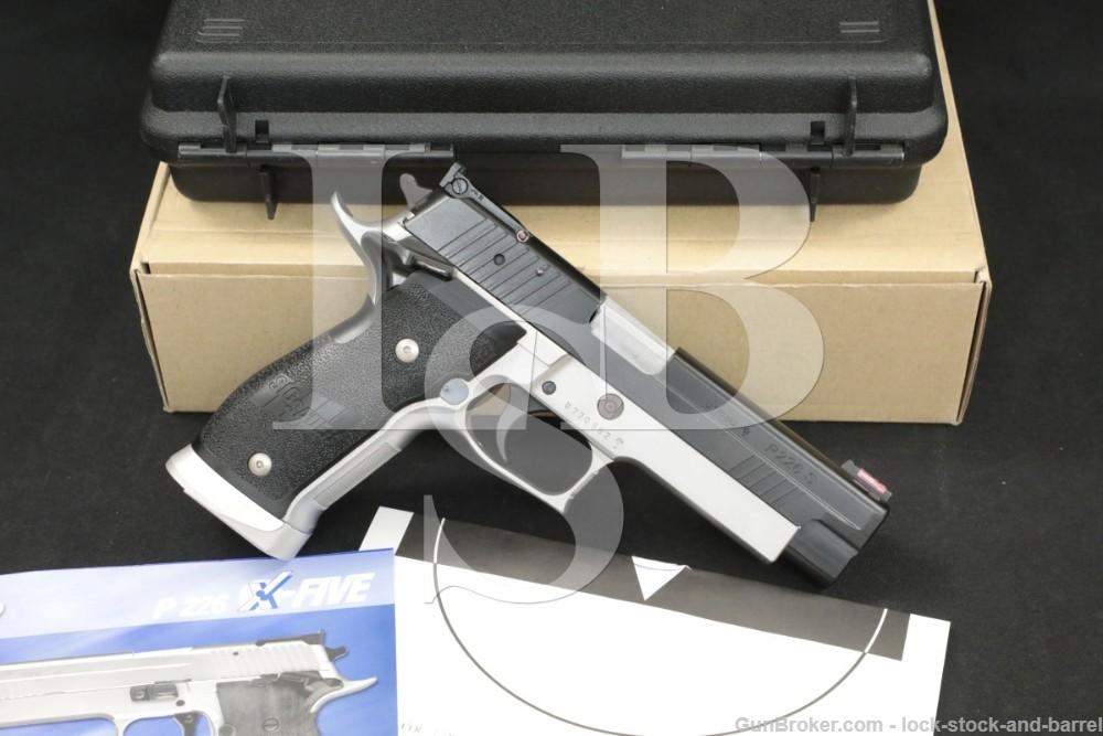 Sig Sauer P226 P-226 X-Five Competition 9mm Para Semi-Automatic Pistol 2004