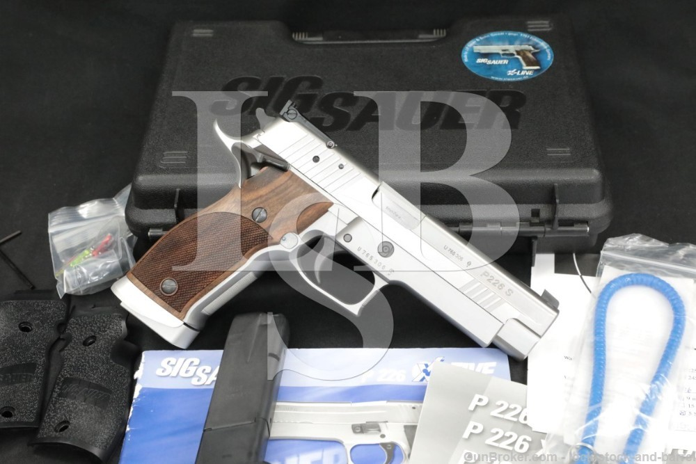 Sig Sauer P226 P-226 X-Five Stainless 9mm Parabellum Semi-Auto Pistol, 2004