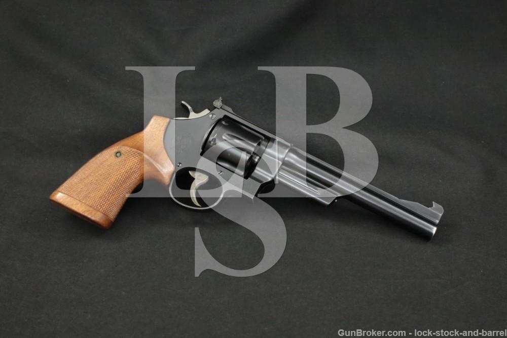 Smith & Wesson S&W 1950 .45 Target Model Pre 26 .45 ACP 6.5″ Revolver C&R