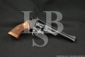 "Smith & Wesson S&W 1955 .45 Target Model Pre 25 .45 ACP 6.5"" Revolver C&R"