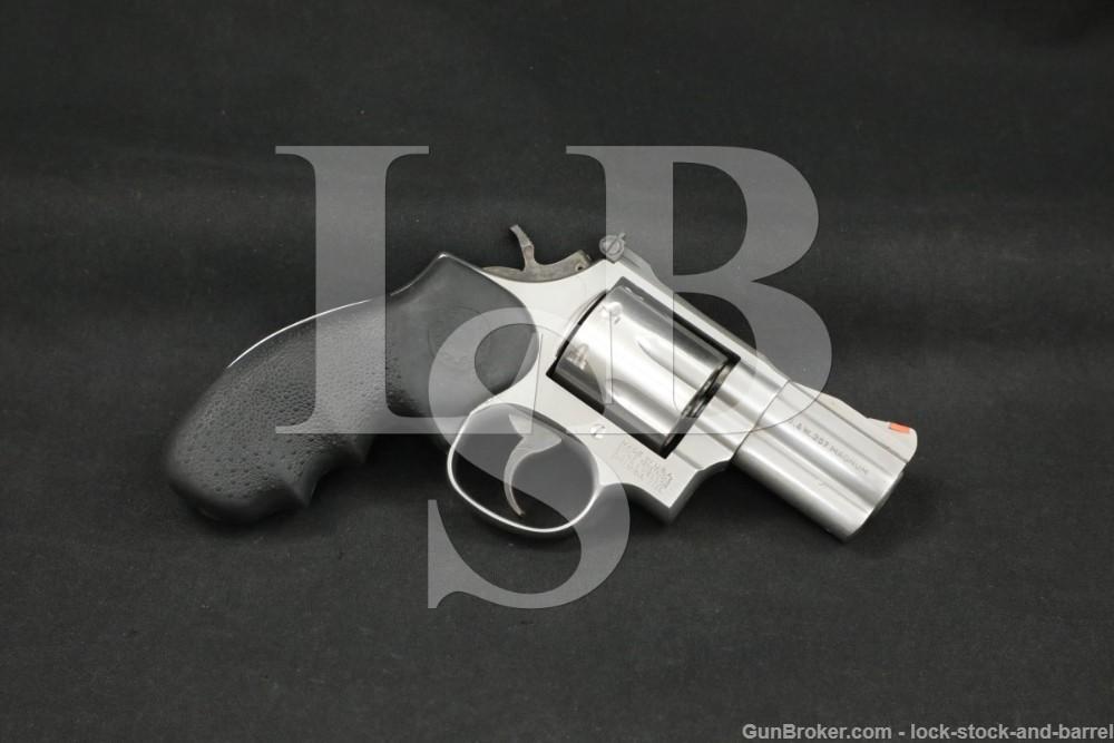 """Smith & Wesson S&W 686-4 PLUS .357 Mag 2.5"""" DA/SA Revolver 1997"""