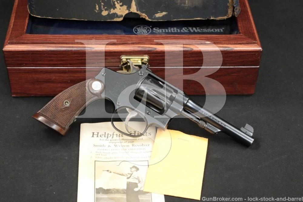 Smith & Wesson S&W Model .22/32 Target .22 LR 4″ DA/SA Revolver MFD C&R