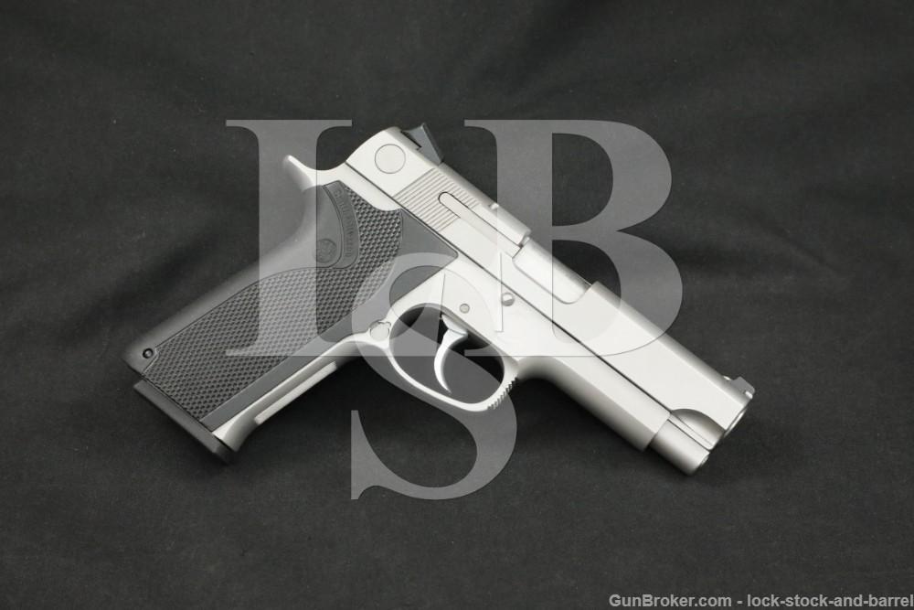 Smith & Wesson S&W Model 1076 10mm 4.25″ DA/SA Semi-Auto Pistol 1991