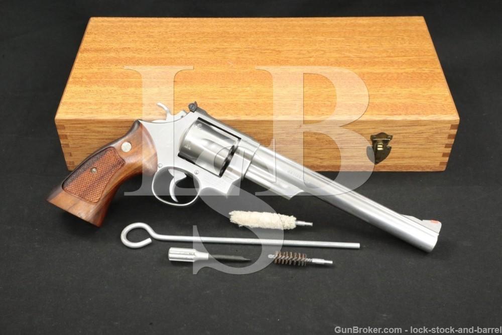 Smith & Wesson S&W Model 629 .44 Magnum 8 3/8″ DA/SA Revolver 1980