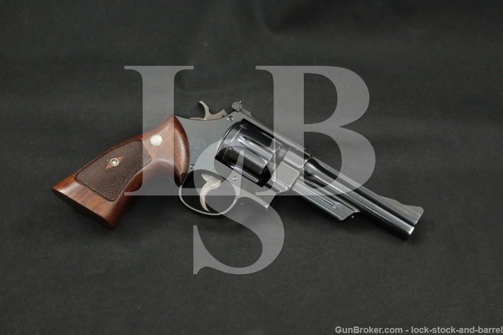"""Smith & Wesson S&W Pre-Model 27 .357 Magnum 5"""" DA/SA Revolver 1956-57 C&R"""