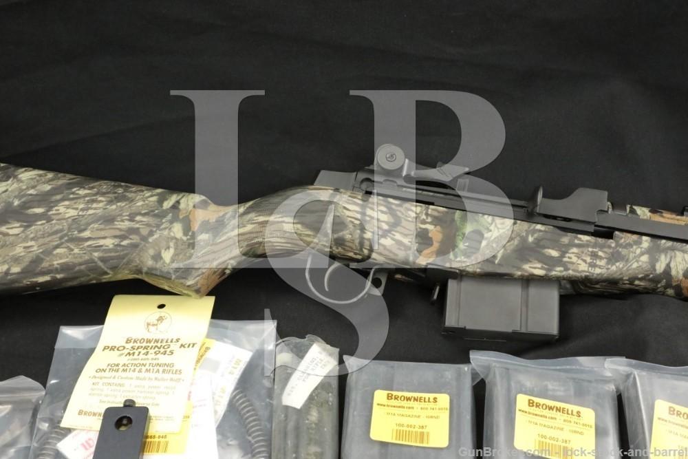 Springfield Armory M1A Squad Scout 308 Winchester Semi-Auto Rifle 1997-2007