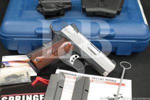 "Springfield Armory Model EMP PI9209LP 9mm 3"" Semi-Auto 1911 Pistol"
