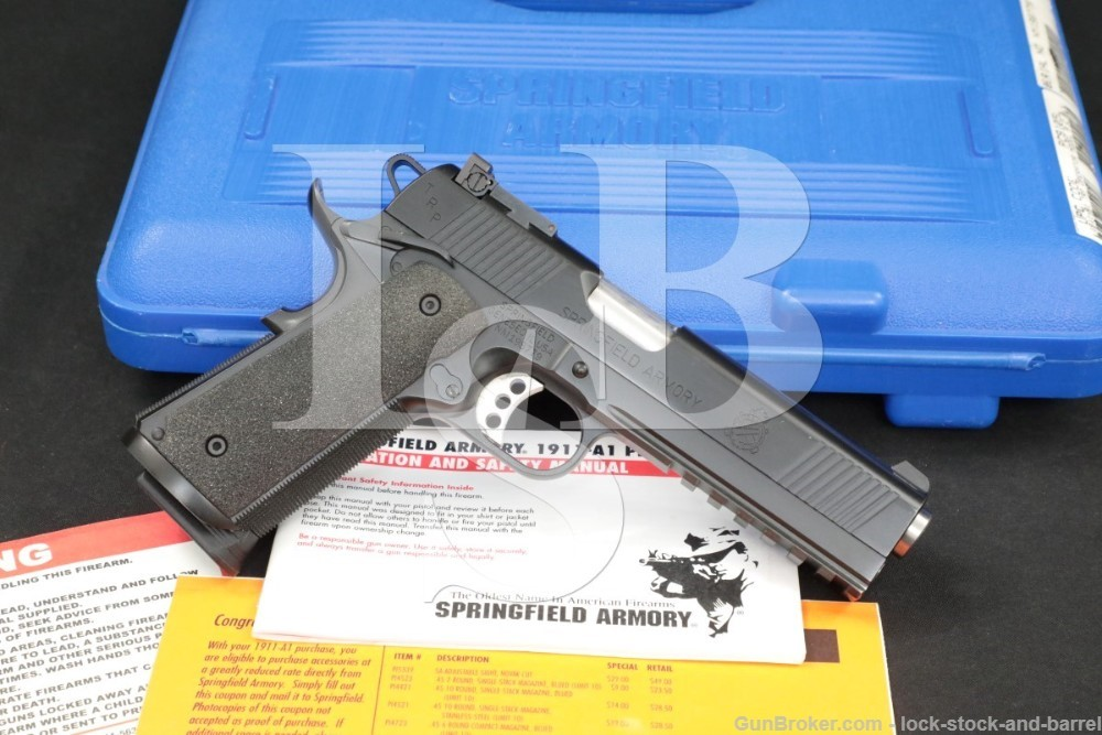 "Springfield Armory Model TRP Operator PC9105L .45 ACP 5"" Semi-Auto Pistol"