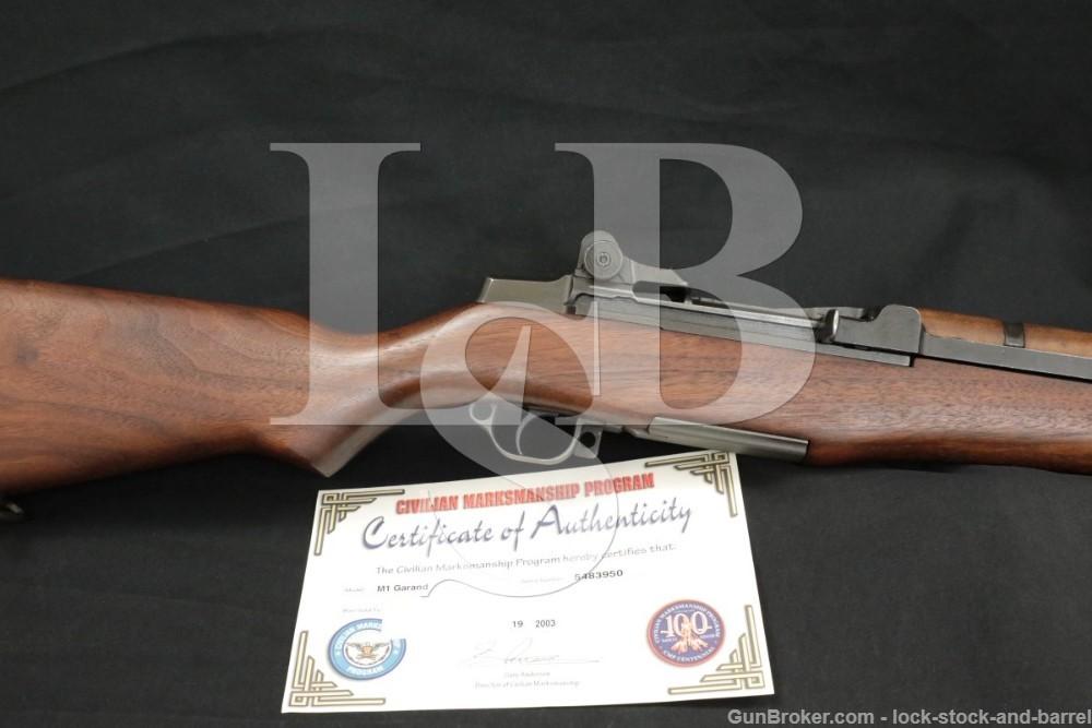 Springfield M1 Garand .30-06 CMP Certificate Semi Automatic Rifle 1955 C&R