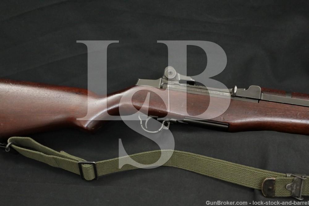 Springfield M1 Garand All SA Parts .30-06 Semi Automatic Rifle 1956 C&R
