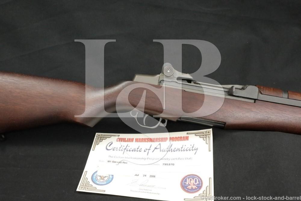 Springfield M1 Garand CMP .30-06 Semi Automatic Rifle MFD 1942 C&R