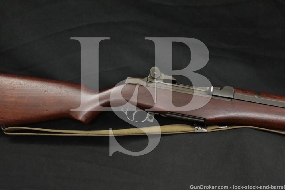 Springfield M1 Garand Matching British .30-06 Semi Automatic Rifle C&R