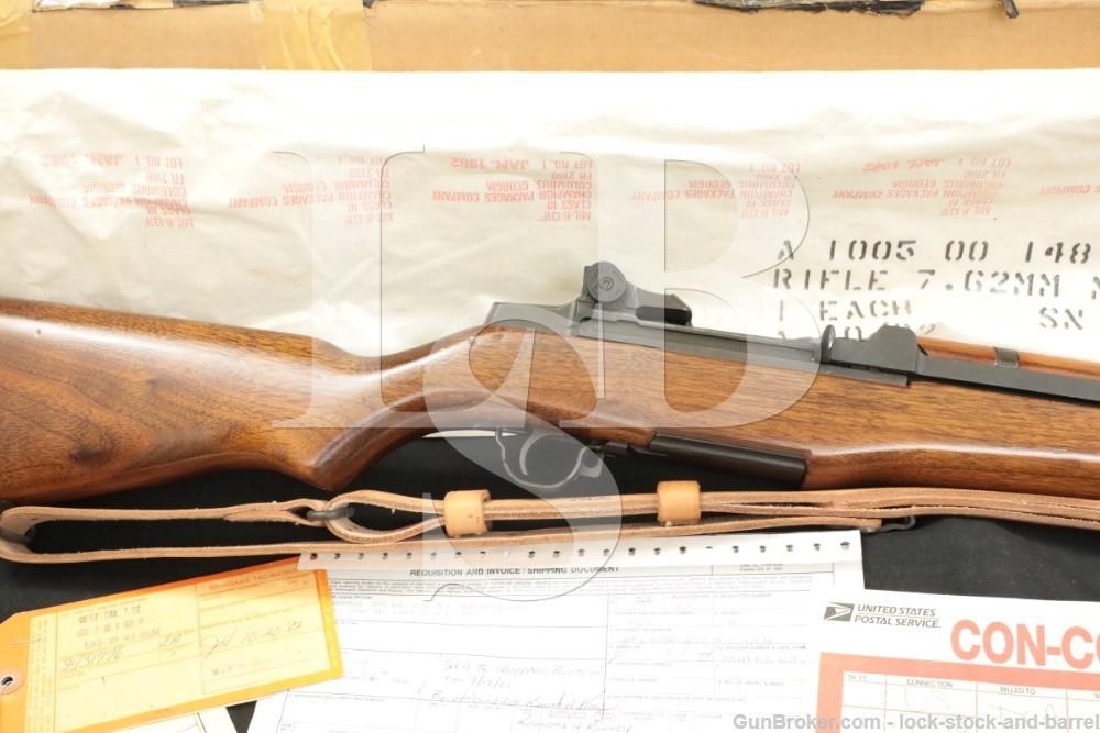 Springfield M1 Garand Navy MK2 MOD1 Grade B Match Rifle 7.62 NATO C&R