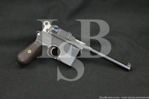 Taku Naval Dockyard China C96 Copy 7.63x25mm 30 Mauser Semi-Auto Pistol C&R
